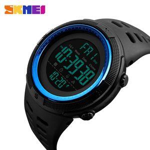SKMEI 1251 Brand Mens Fashion Sports Watches Chrono Countdown Men Waterproof Digital Watch Man Military Clock Relogio Masculino