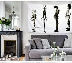 tapicería dossal decrative paño sofá cubierta de mesa cuatro tamaño disponible tela de poliéster transferencia de calor impresión de dígitos tradición de dibujos animados planta