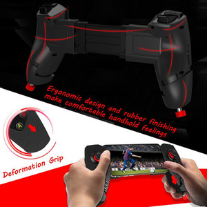 IPEGA PG-9055 Red Spider Wireless Bluetooth Gamepad Telescopic Game Controller Joystick para Android iOS Tablet PC
