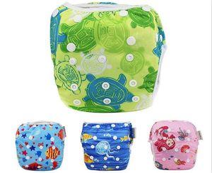100pcs Unisex One Size Waterproof Adjustable Swim Diaper Pool Pant Swim Diaper Baby Reusable Washable Pool Diaper Y161