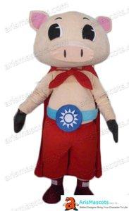 super-héros cochon mascotte costume animal mascotte conception personnage costumes mascotte sur mesure mascotte mascota