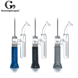 100% Original G9 Greenlightvapes Mini Kit Henail Com 1500 mah Bateria Embutida Apto Para Dab Wax Pen Rig DHL