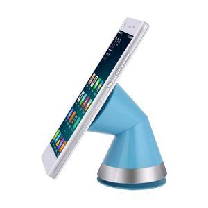 VBESTLIFE 360 Degrés Rotation Aspiration Titulaire De Téléphone Fixer Stand avec Câble Organisateur pour Mobile Téléphone Support Universel