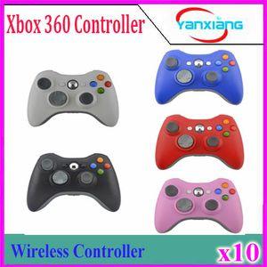 Regolatore 10pcs gioco per XBOX 2017 New Brand Wireless Gamepad Joypad Joypad Controller per Microsoft Xbox 360 Qualità YX-360-01
