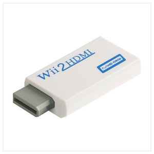 Wii to HDMI Adapter Converter Full HD 1080P Video 3.5mm Audio Output For HDTV Monitor Hot Sale