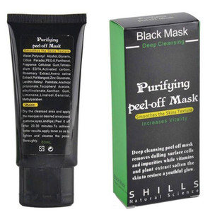 Máscara de Sucção Preta Anti-Envelhecimento 50ml SHILLS Deep Cleansing Purifying peel off Máscara preta Remover Blackhead Peel Máscaras