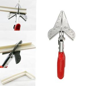 PVC Trunking chanfro Cortador Multi Angle Aço guarnição Siding Mitre Fillet tesoura snips Corte de corte de 45 a 120 graus
