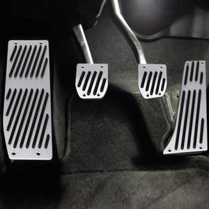 4 unids Coche Transmisión Manual de Embrague Pie de Freno Pedal Pad para BMW 1 3 5 7 X1 Serie E30 E32 E34 E36 E38 E39 E46 E87 E90 E91