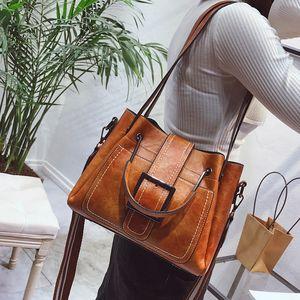 Hot Luxury Lady Handbags Trendy Messenger European and American Vintage Shoulder Bag Fashion Commuter Lady Messenger Bag Free Shipping