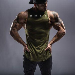 Männer Casual Gymnasium Fitness Tank Tops Männliche Sommer Schweißabsorption Aktive Jogger Ärmellose T-Shirts Westen Unterhemd
