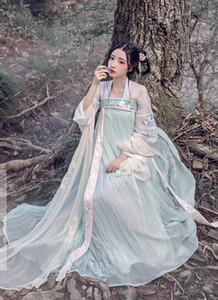 2018 estate donne hanfu vestito cinese costume antico costume tradizionale di Hanfu vestito femminile vestito costume di linguetta