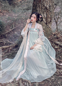 2018 été hanfu femmes chinois robe chine costume ancien hanfu traditionnel femme robe fille costume de tang costume