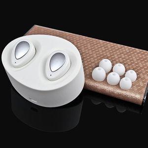 TWS-K2 sem fio Earbuds verdadeira Mini Twins Stereo cancelamento de ruído Bluetooth Headset Sports invisível na Fones de ouvido com carregador portátil