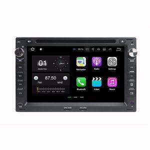 """1024 * 600 Android 7.1 Dört Çekirdekli 2din 7 """"Araba Radyo dvd GPS Kafa Ünitesi Araba DVD VW Volkswagen Passat B5 Golf 4 Polo Bora Jetta Sharan T5"""
