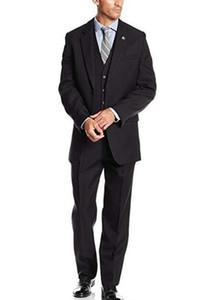 스테이시 아담스 남성의 큰 키가 큰 써니 부여 쓰리 피스 정장 남성 정장 공식 행사에 웨딩 턱시도 G1을 착용