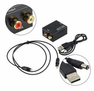 Digital zu Analog Audio Konverter Adapter Digital Adaptador Optischer Koaxial Toslink Signal zu Analog Audio Konverter RCA