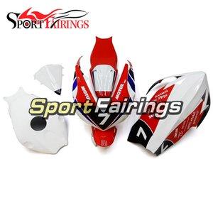 الألياف الزجاجية سباق الأحمر الأبيض fairings لهوندا cbr1000rr 2012 2013 2014 2015 fairings كاملة دراجة نارية