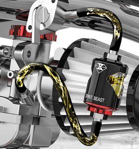 Accesorios de bricolaje de Motocross, filtros de gasolina decorativos del coche de deportes, filtros de imán de bricolaje de la vespa
