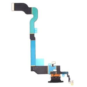 10pcs / lot Remplacement chargeur USB Dock connecteur ruban de câble flexible pour iphone X câble de charge flexible
