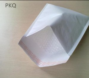 10 stücke Weißes Kraftpapier Blase Umschläge Taschen Versandtaschen Gepolsterte Versand Umschlag Mit Bubble Foam Versandtasche Business Supplies