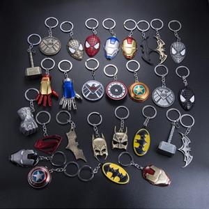 Marvel Universo The Avengers Série Keychain Infinito Guerra Moda Superhero Chaveiro Para As Mulheres Homens Jóias Titular Chave Trinkets brinquedos infantis