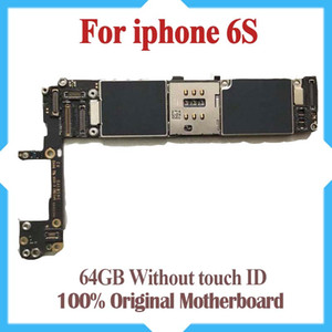 100% Original Unlocked for iPhone 6S Motherboard with IOS System,64gb for iphone 6s Logic Boards without Touch ID,good quality