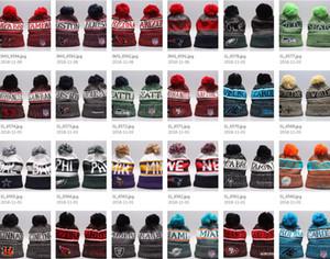 Kış PITTSBURGH Beanie Şapka Erkekler kadınlar için Örme Beanie Yün Şapka Adam Örgü Bonnet Beanies Sıcak Beyzbol Şapkası
