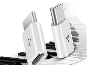 Recubrimiento autocatalítico de tamaño amistoso de bolsillo de alta calidad ABS micro USB 3.1 Tipo-C de transferencia rápida de sincronización de datos adaptador de cargador