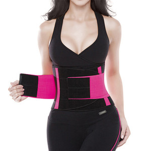 Wholesale Waist Slimming Belt for Women New Abdomen Fat Burning Girdle Belly Body Sculpting Shaper corset Cummerbund Tummy Slimming Belt
