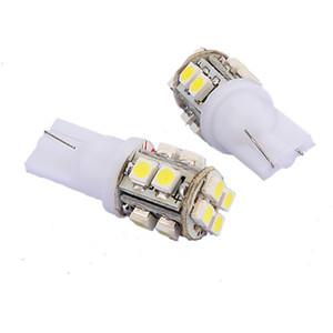 10X haute qualité T10 194 168 501 921 W5W 12 LED SMD côté voiture Ampoule Wedge Lampe Blanc 12V