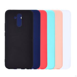 Конфеты цвет обложка для Huawei Mate 20 Lite Case мягкие TPU ультратонкий дизайнер Mobie телефон случаях Capinha