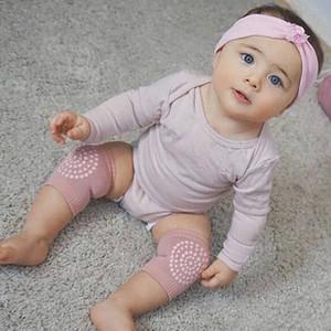 Yenidoğan Bebek Çorap Tarama Kayma Önleyici Diz Sıkıştırma Kol Unisex Kneecap Çocuklar dizlerinizi Kapsama 12M Çocuk Giyim korumak için
