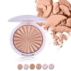 MISS ROSE Cuisson Shimmer Surligneur Maquillage Améliorer Joues Silhouette Visage Poudre Pressée Visage Maquillage De La Peau