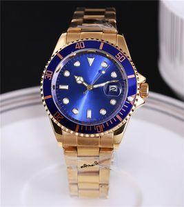 Relojes hombres moda marka lüks erkek tasarımcı otomatik günlük tarih erkekler altın saat bilezik elbise usta kuvars saatini saatler kol saatleri