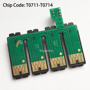 T0711-T0714 CISS Combo Puce Pour Epson S20 S21 SX100 SX110 SX200 SX209 SX210 SX400 SX510W SX410 SX610FW SX600FW SX205 SX215 SX105