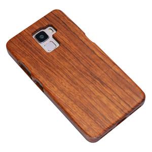Holzgehäuse für Huawei mate9 / mate10 / Honor 7, Holz Smartphone Case, natürliche Massivholz Lasergravur Fall Holz (Rosenholz)