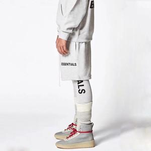 18SS Essentials Vintage Shorts Via respirabile di estate fredda Beach pantaloni di scarsità di modo casuale allentato Sport Uomini Donne Pantaloni HFYMKZ043