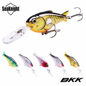 SeaKnight SK003 Crankbait 55mm 10g 1.8-3.9 M 5 Adet Sert Balıkçılık Lures Yüzer Wobblers Krank Sert Yem BKK Kancalar Deniz Sazan Balıkçılık Tuzlu ...