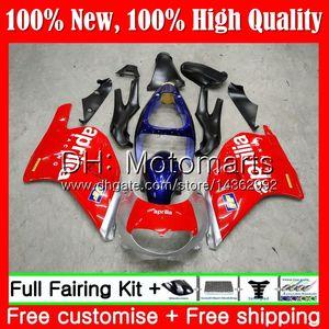 Karosserie rot blau Für Aprilia RS-250 RSV250 RS250 95 96 97 Karosserie 5MT RS250R 95-97 RSV 250 RR Silber RS 250 1995 1996 1997 Verkleidung Karosserie