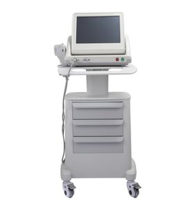 Effetive Real HIFU High Intensity Focused Ultrasound Hifu Face Lift Machine Anti Aging With 3 Cartridges Or 5 Cartridges For Face Body