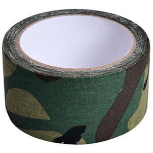 1 rolo 5cmx5m Fita Adesiva Outdoor duto para Shoot Jogo de Guerra Selvagem Exército Arma escondida decorativa Bandage Hunting Enrole fita Camo Belt