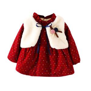 Autumn Winter Kids Baby Girls Jackets Outwear Tops Warm Children Coat Clothes