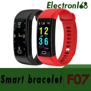20X F07 0.96 OLED Couleur écran Bluetooth Smart Band Bracelet IP68 Étanche Natation Fréquence Cardiaque Smartwatch Fitness Montre Pour Android iOS