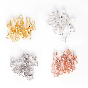925 серебро Выводы Бейл Соединитель Bale Pinch Застежка для бисера Подвеска DIY ювелирных изделий Изготовление
