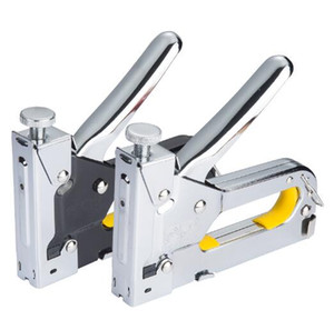 Бесплатная доставка T Тип / U тип / тип двери ногтей Штапель пистолет порошок приводом ручной крепления инструменты для сборки ручной деревянный обрамление прибор