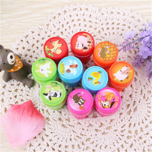 10 pcs Assorted Farm Animals Stamps Kids Party Favors Event Supplies for Birthday Party Gift Toys Boy Girl Pinata Fillers