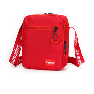 2018 Cross Body Bags com Carta Impresso Designer Messenger Bag Homens Oxford Ombro de Luxo Cross-Body Bag Zipper para As Mulheres