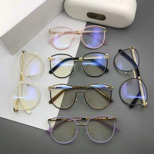 New eyeglasses frame 2126 Spectacle Frame eyeglasses for Men Women Myopia Glasses frame clear lens With Original case