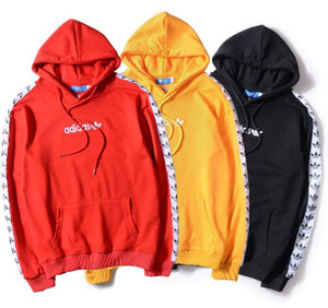 Europe and the United States tide brand autumn and winter cotton hooded hooded letter pattern casual couple sweater, men's casual sweater, w