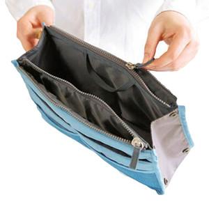 Portable Canvas Reisetaschen Make Up Organizer Tasche für Frauen Männer Casual Multifunktionale Kosmetik Make-up Kulturbeutel Lagerung Handtasche